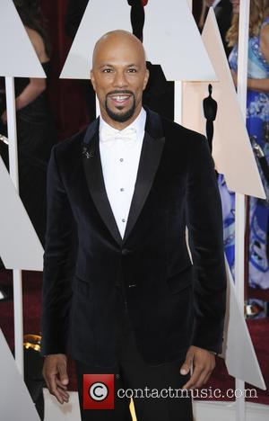 Common - Hollywood's biggest stars were snapped on the red carpet as they arrived for the 87th Annual Oscars awards...