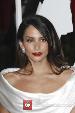 Genesis Rodriguez - Hollywood's biggest stars were snapped on the red carpet as they arrived for the 87th Annual Oscars...