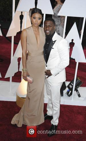 Kevin Hart and Eniko Parrish - Hollywood's biggest stars were snapped on the red carpet as they arrived for the...
