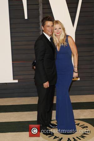 Rob Lowe and wife Sheryl Berko - 87th Annual Oscars - Vanity Fair Oscar Party at Oscars - Beverly Hills,...