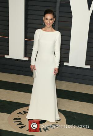 Natalie Portman - The 87th Annual Oscars - Vanity Fair Oscar Party at Wallis Annenberg Center for the Performing Arts...