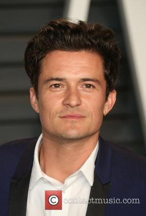 Orlando Bloom - The 87th Annual Oscars - Vanity Fair Oscar Party at Wallis Annenberg Center for the Performing Arts...