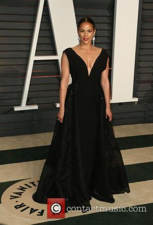 Paula Patton - The 87th Annual Oscars - Vanity Fair Oscar Party at Wallis Annenberg Center for the Performing Arts...