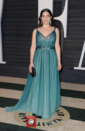 America Ferrera - The 87th Annual Oscars - Vanity Fair Oscar Party at Wallis Annenberg Center for the Performing Arts...