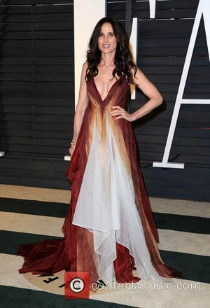 Andie MacDowell - The 87th Annual Oscars - Vanity Fair Oscar Party at Wallis Annenberg Center for the Performing Arts...