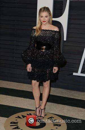 Chloe Grace Moretz - The 87th Annual Oscars - Vanity Fair Oscar Party at Wallis Annenberg Center for the Performing...