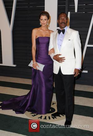 Eddie Murphy and Paige Butcher - The 87th Annual Oscars - Vanity Fair Oscar Party at Wallis Annenberg Center for...