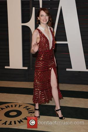 Emma Stone - The 87th Annual Oscars - Vanity Fair Oscar Party at Wallis Annenberg Center for the Performing Arts...