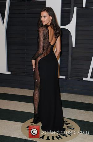 Irina Shayk - The 87th Annual Oscars - Vanity Fair Oscar Party at Wallis Annenberg Center for the Performing Arts...