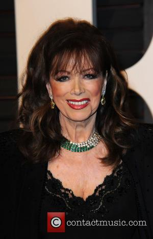 Jackie Collins - The 87th Annual Oscars - Vanity Fair Oscar Party at Wallis Annenberg Center for the Performing Arts...