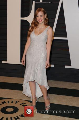 Jessica Chastain - The 87th Annual Oscars - Vanity Fair Oscar Party at Wallis Annenberg Center for the Performing Arts...