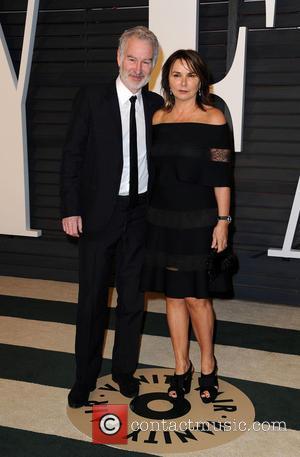 John McEnroe and Patty Smyth - The 87th Annual Oscars - Vanity Fair Oscar Party at Wallis Annenberg Center for...