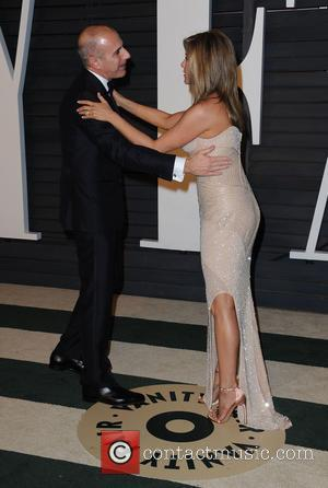 Matt Lauer and Jennifer Aniston
