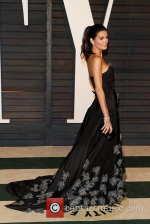 Angie Harmon - A host of stars were photographed as they attended the Vanity Fair Oscar Party which was held...