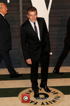 Antonio Banderas - A host of stars were photographed as they attended the Vanity Fair Oscar Party which was held...