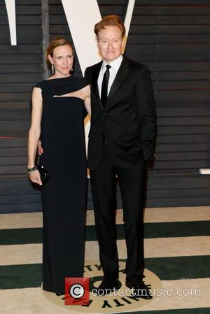 Conan O'Brien and Liza Powel O'Brien - A host of stars were photographed as they attended the Vanity Fair Oscar...