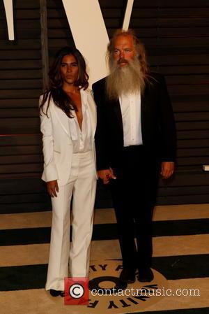 Rick Rubin and Mourielle Herrera
