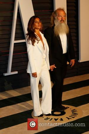 Rick Rubin and Mourielle Herrera - A host of stars were photographed as they attended the Vanity Fair Oscar Party...