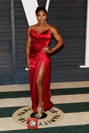 Serena Williams - A host of stars were photographed as they attended the Vanity Fair Oscar Party which was held...