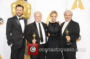 Alan Robert Murray, Bub Asman, Sienna Miller and Chris Pine