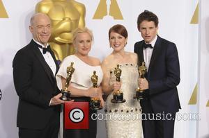 J.k. Simmons, Patricia Arquette, Julianne Moore and Eddie Redmayne