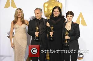 Jennifer Aniston, Mathilde Bonnefoy, Laura Poitras and Dirk Wilutzkyrk