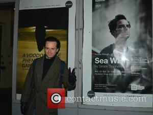 Andrew Scott - Star of the upcoming Bond movie 'Spectre' Andrew Scott seen arriving for his first performance in the...