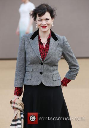 Jasmine Guinness - London Fashion Week Autumn/Winter 2015 - Burberry Prorsum - Arrivals at London Fashion Week - London, United...