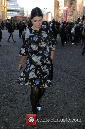 Pixie Geldof - Celebrity Sightings at London Fashion Week  Christopher Kane show at London Fashion Week - London, United...