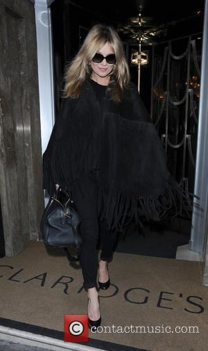 Kate Moss - Celebrities leaving Claridges Hotel - London, United Kingdom - Monday 23rd February 2015