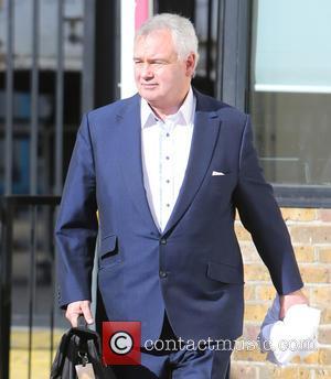 Eamonn Holmes - Eamonn Holmes outside ITV Studios - London, United Kingdom - Monday 23rd February 2015