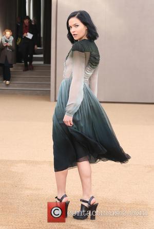 Leigh Lezark - LFW Autumn/Winter 2015 - Burberry Prorsum - Arrivals - London, United Kingdom - Monday 23rd February 2015