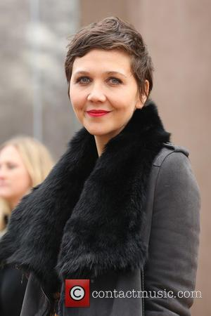 Maggie Gyllenhaal - LFW Autumn/Winter 2015 - Burberry Prorsum - Arrivals - London, United Kingdom - Monday 23rd February 2015