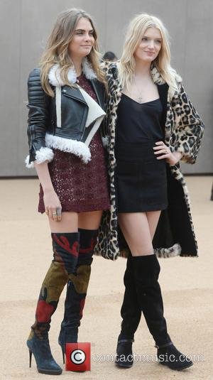 Cara Delevingne and Lily Donaldson