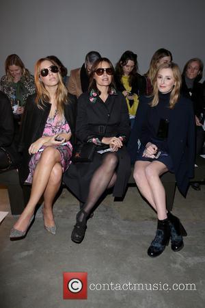 Amber Le Bon, Yasmin Le Bon and Laura Carmichael