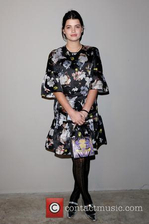 Pixie Geldof - London Fashion Week Autumn/Winter 2015 - Christopher Kane - Front Row at London Fashion Week - London,...