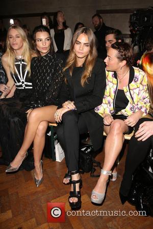 Lady Mary Charteris, Emily Ratajkowski, Cara Delevingne and Jaime Winstone