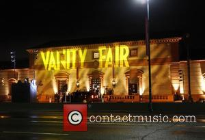 Exterior view of the Wallis Annenberg Center for the Performing Arts, host venue of the 2015 Vanity Fair Oscar Party...