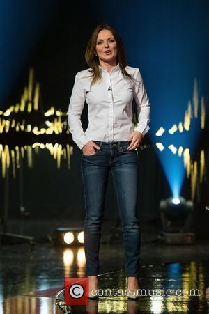 Geri Halliwell - 'Skavlan' television show production images from the London Studios. - London, United Kingdom - Monday 23rd February...