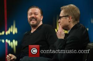 Ricky Gervais and Magnus Falkehed