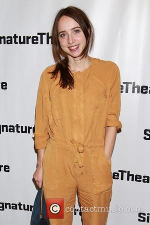 Zoe Kazan - Opening night of 'Big Love' held at the Signature Center - Arrivals at Signature Center, - New...