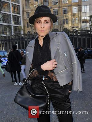 Noomi Rapace - London Fashion Week Autumn/Winter 2015 - Christopher Kane - Outside Arrivals at London Fashion Week - London,...