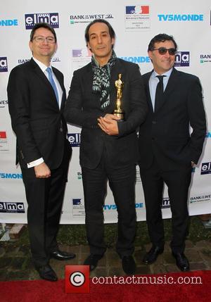 Mr. Axel Cruau, Alexandre Desplat and Marco Mavilla