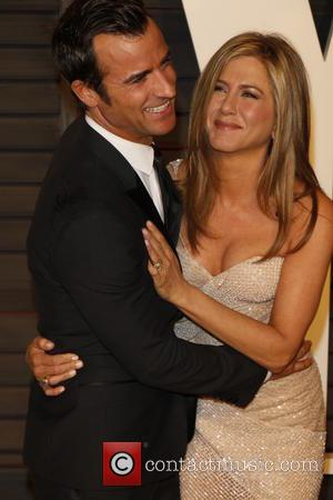 Jennifer Aniston and Justin Theroux - 87th Annual Oscars - Vanity Fair Oscar Party at Oscars - Beverly Hills, California,...