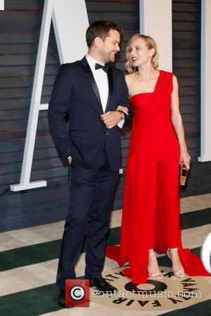 Joshua Jackson and Diane Kruger - 87th Annual Oscars - Vanity Fair Oscar Party at Oscars - Beverly Hills, California,...