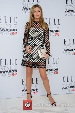 Abbey Clancy - ELLE Style Awards 2015 - Arrivals - London, United Kingdom - Tuesday 24th February 2015