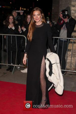 Lindsay Lohan - The first Fabulous Fund Fair hosted by Natalia Vodianova and Karlie Kloss at the Roundhouse - Arrivals...