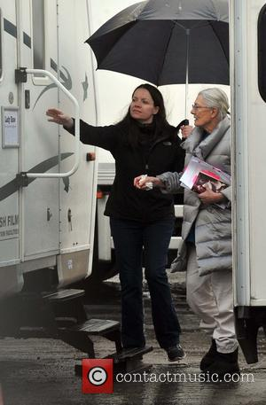 Vanessa Redgrave - Vanessa Redgrave and Eric Bana on the set of 'The Secret Scripture' - Dublin, Ireland - Tuesday...