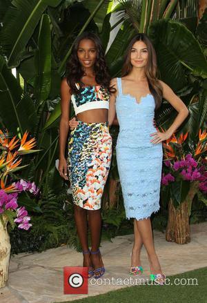 Jasmine Tookes and Lily Aldridge
