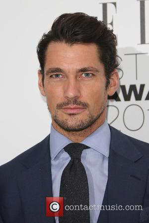 David Gandy - A host of celebrities were photographed as they arrived at the ELLE Style Awards 2015 which were...